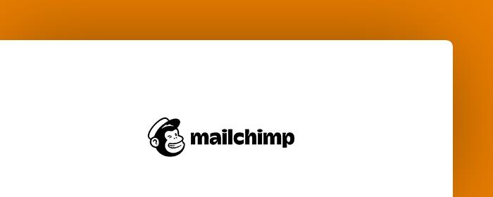 landing page - mailchimp