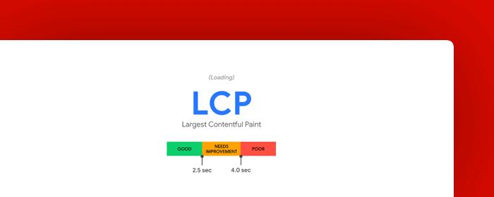web vitals - lcp